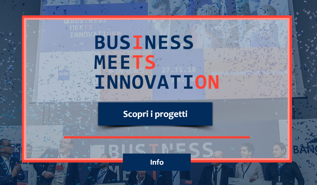 "Opportunità: ""Business meets Innovation"" – ricerca di soluzioni per 4 importanti player germanici"