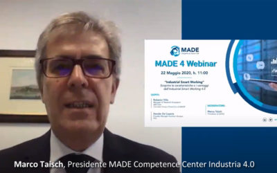 "MADE 4 Webinar: ""Industrial Smart Working"""