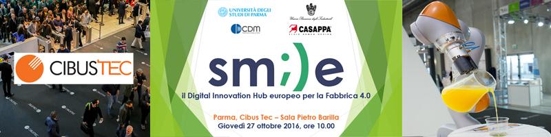 Presentation of SMILE and Focus Group at CibusTec, Parma Fair