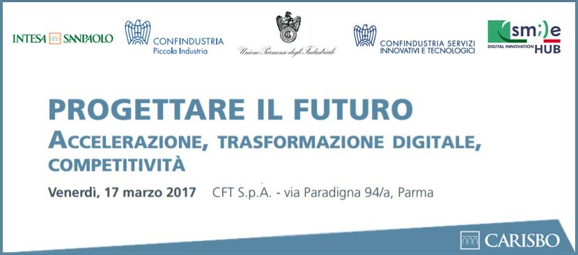 """Presentazione di SMILE Digital Innovation Hub al convegno: """"Industria 4.0. Progettare il futuro. Accelerazione, trasformazione digitale, competitività"""""""
