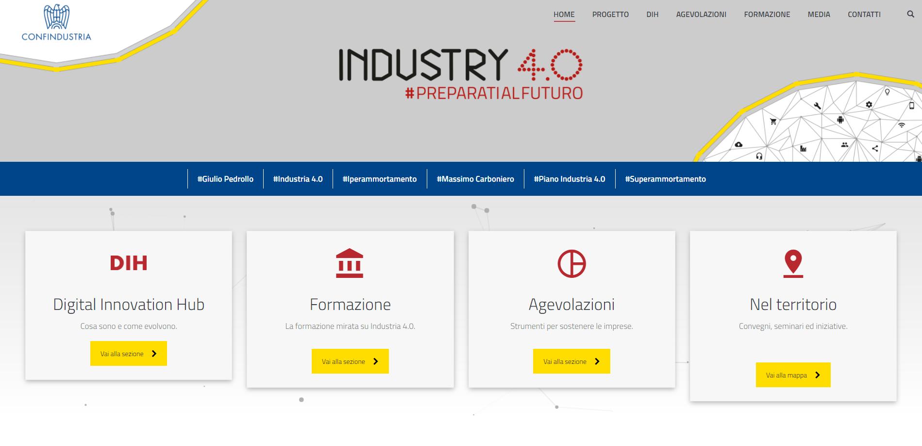 On line il sito dei DIH italiani del sistema Confindustria