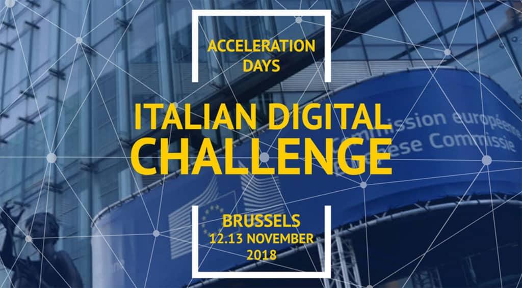 Italian Digital Challenge, Bruxelles – 12-13 novembre 2018