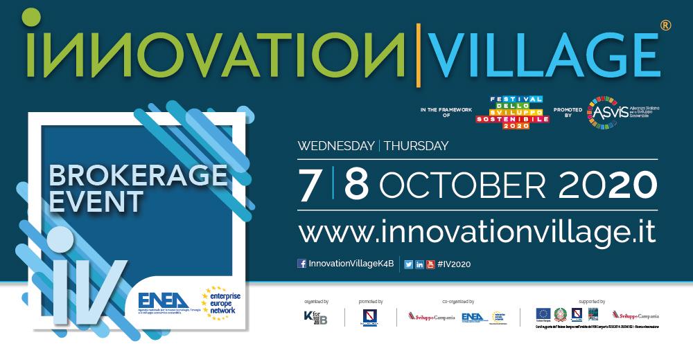 Virtual EEN Brokerage Event @ Innovation Village 2020